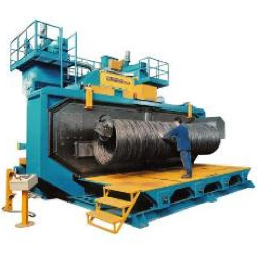 SPECIAL MACHINES FOR WIRE BLASTING
